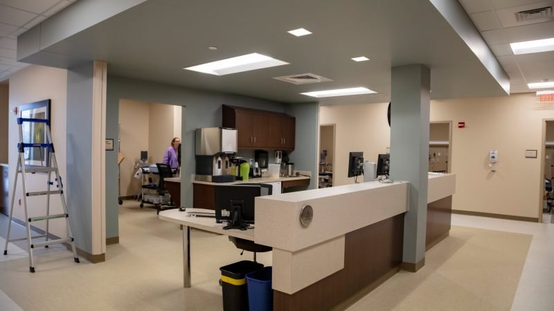 River's Edge Same Day Surgery wing
