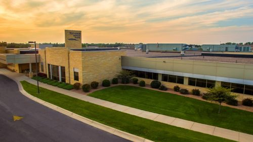 River's Edge Hospital Current Main Entrance