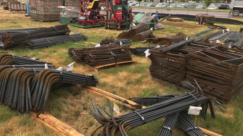 Piles of Rebar