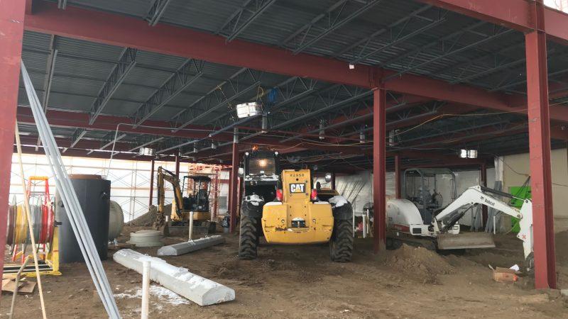 Emergency Department construction