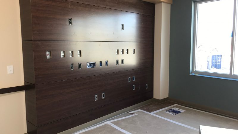new Patient Room almost finished